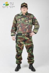 1159.군복(개구리군복)-점퍼